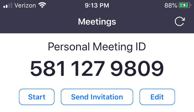 1608382476 575 Comment organiser une reunion Zoom Cloud sur un smartphone ou