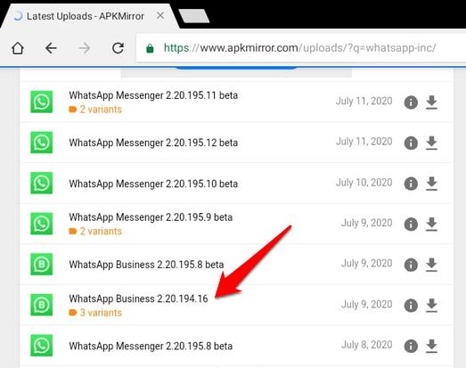 1608429099 566 Comment installer WhatsApp sur une tablette