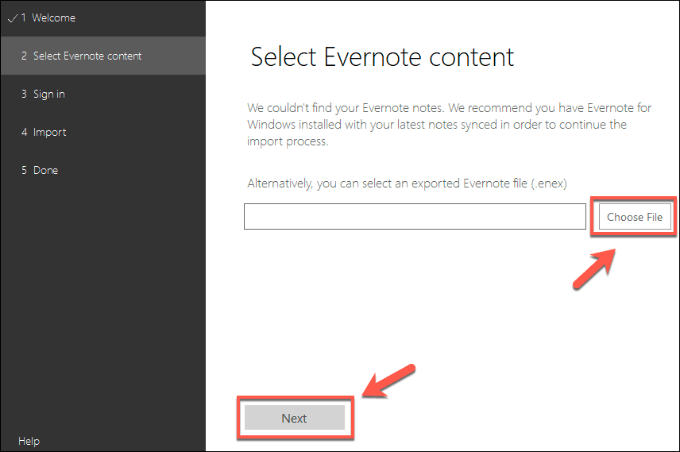 1608453248 136 Comment migrer vos notes Evernote vers Microsoft OneNote