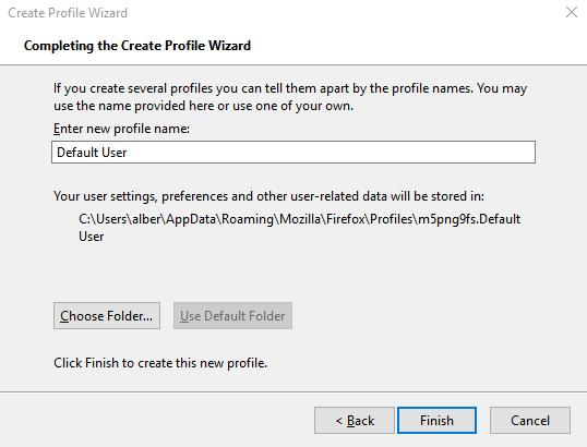 1608456916 588 Comment migrer un profil Firefox de la bonne maniere
