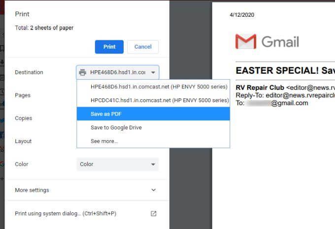 1608527900 38 Comment transferer plusieurs e mails dans Gmail