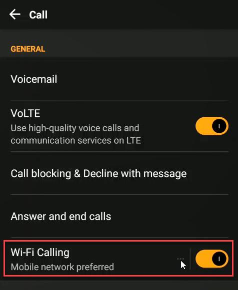1608598603 403 Comment utiliser le WiFi pour passer des appels sur un