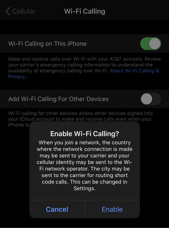 1608598604 266 Comment utiliser le WiFi pour passer des appels sur un