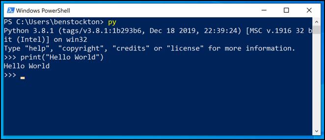 1608606172 735 Comment utiliser Python sur Windows