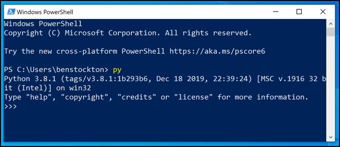 1608606172 820 Comment utiliser Python sur Windows