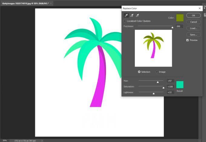 1608617869 73 Comment utiliser Photoshop Remplacer la couleur pour ledition creative