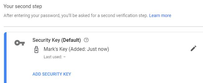 1608708146 399 Comment configurer une YubiKey comme methode dauthentification en deux etapes