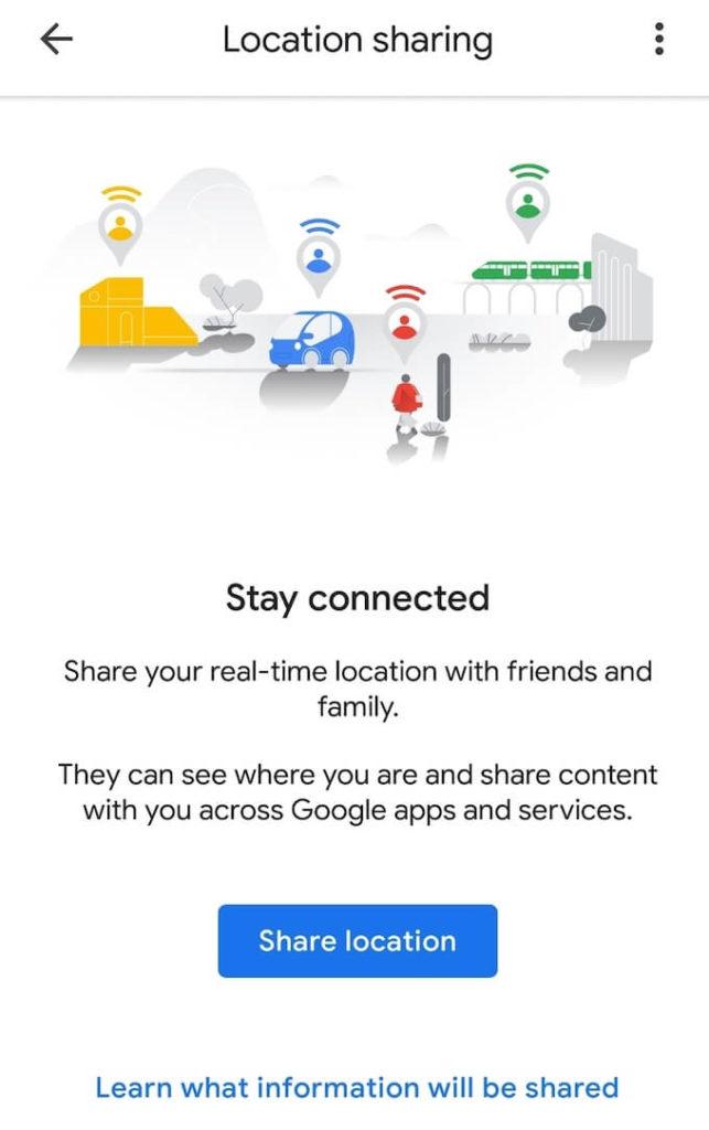 1608746550 481 Comment partager votre position sur Android