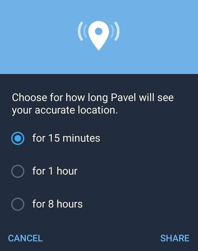 1608746552 60 Comment partager votre position sur Android