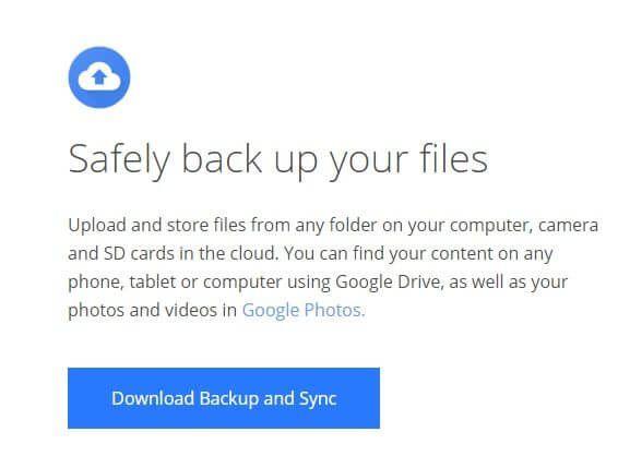 1608819685 979 Comment utiliser Google Backup and Sync pour sauvegarder votre disque