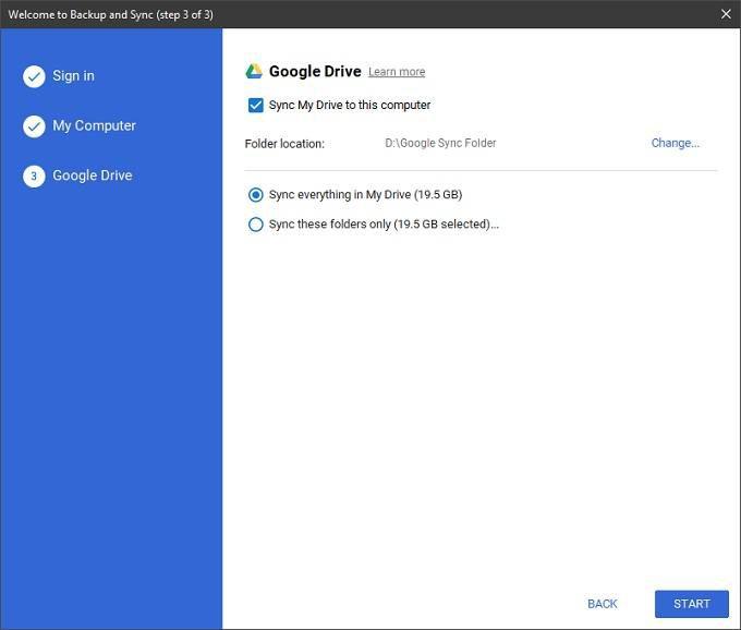 1608819686 803 Comment utiliser Google Backup and Sync pour sauvegarder votre disque