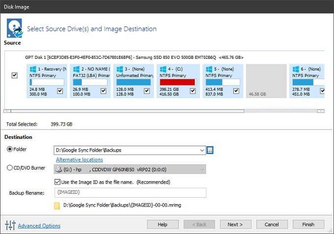 1608819686 916 Comment utiliser Google Backup and Sync pour sauvegarder votre disque