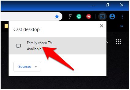 1608828268 307 Comment utiliser Chromecast pour diffuser lintegralite de votre bureau sur