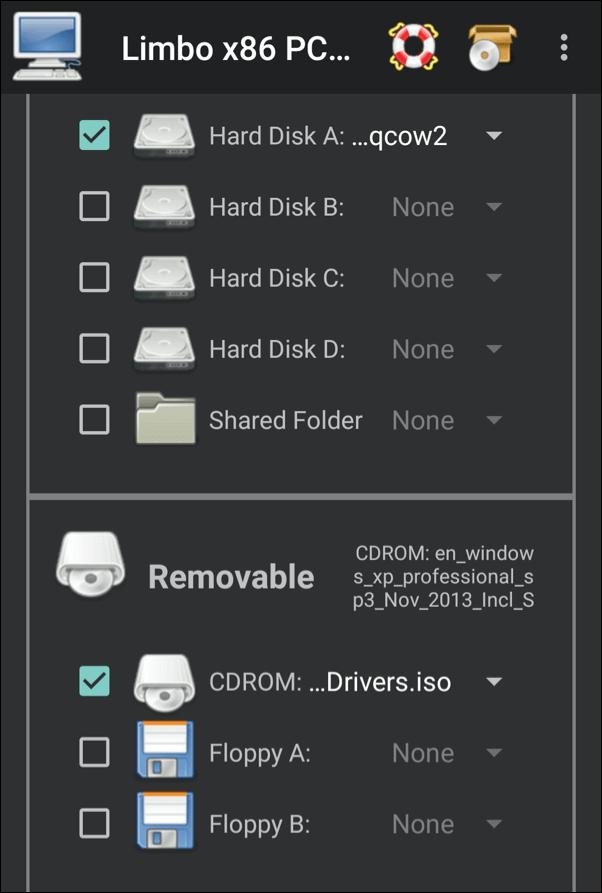 1608838650 584 Comment utiliser un emulateur Windows XP sur Android avec Limbo