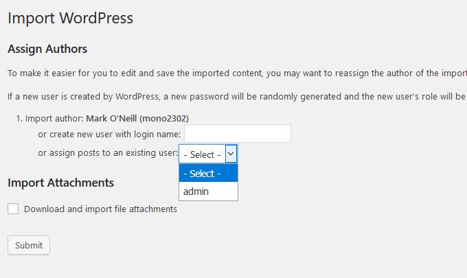 1608865752 82 Comment transferer un site Web WordPresscom vers WordPressOrg