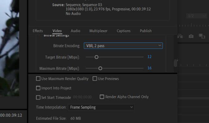1609051846 612 Comment exporter des videos de Premiere Pro vers les medias