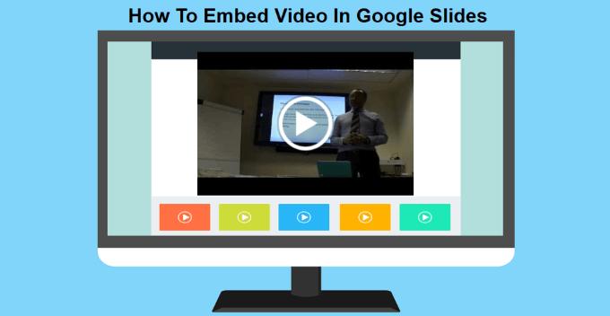 1609059604 385 Comment integrer une video dans Google Slides