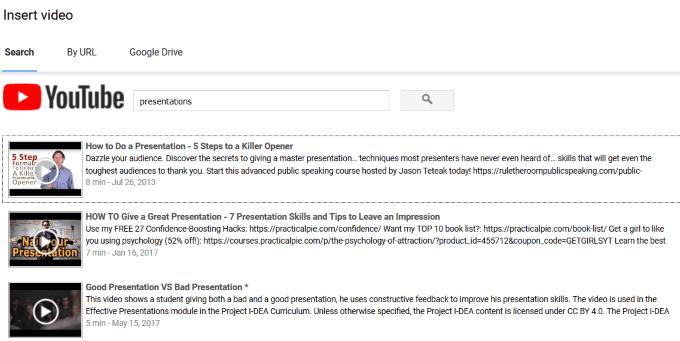 1609059604 849 Comment integrer une video dans Google Slides