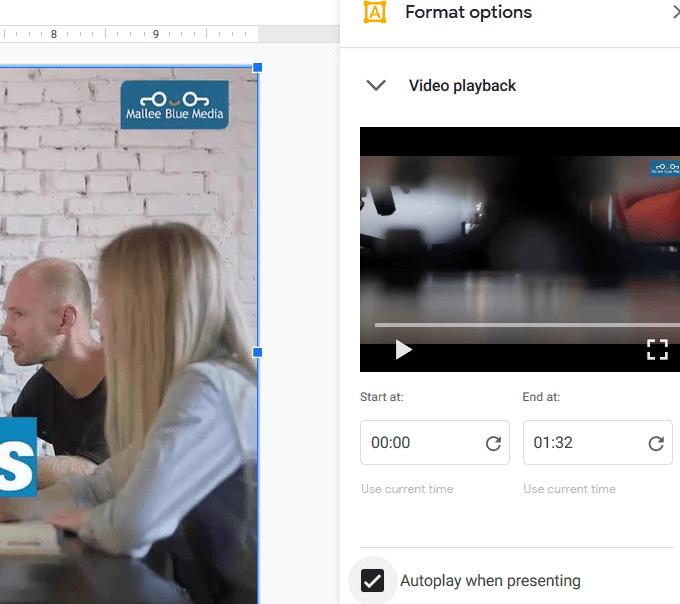1609059605 713 Comment integrer une video dans Google Slides