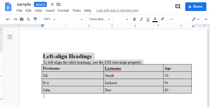 1609063684 223 Comment integrer du HTML dans un document Google