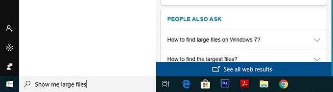 4 facons de trouver des fichiers volumineux dans Windows 10