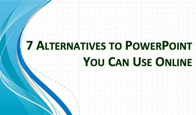 7 alternatives à PowerPoint que vous pouvez utiliser en ligne