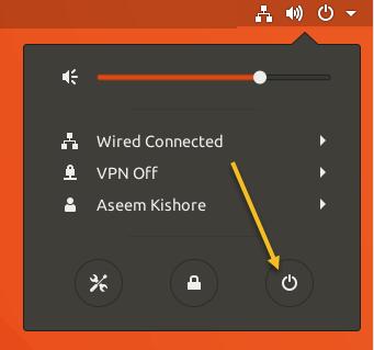 Arretez et redemarrez votre ordinateur a partir du terminal Ubuntu