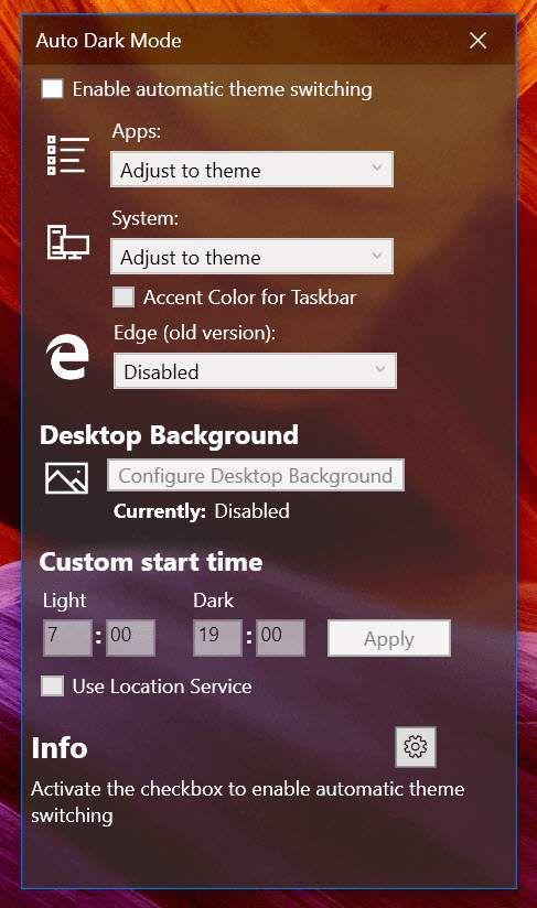 Comment basculer automatiquement les modes sombre et clair sur Windows