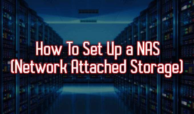 Comment configurer un NAS (stockage en réseau)