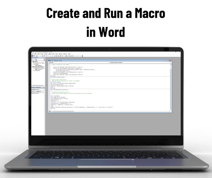 Comment creer et executer une macro dans Word