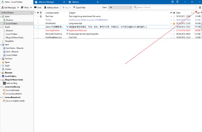 Comment deplacer votre profil Thunderbird et votre e mail vers un
