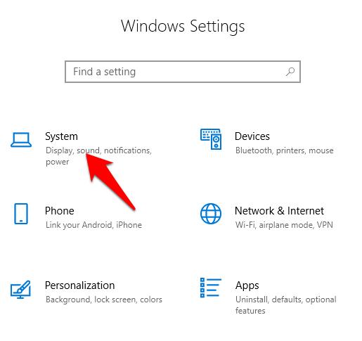 Comment desactiver les notifications dans Windows 10