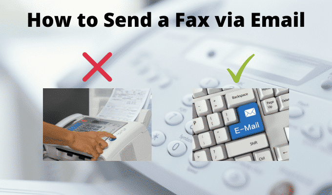 Comment envoyer un fax par e mail