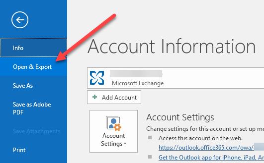 Comment exporter vos e mails de Microsoft Outlook vers CSV ou