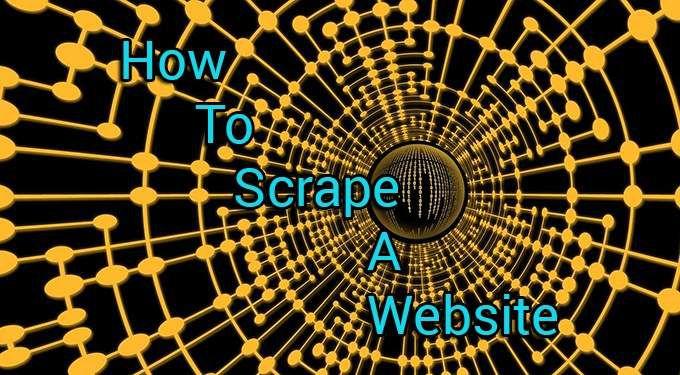 Comment gratter un site Web