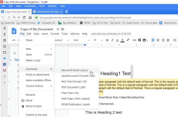 Comment imprimer un document Google avec des commentaires