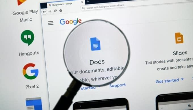 Comment intégrer du HTML dans un document Google