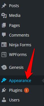 Comment modifier le pied de page dans WordPress