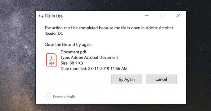 Comment ouvrir un fichier verrouillé lorsqu'un autre programme l'utilise