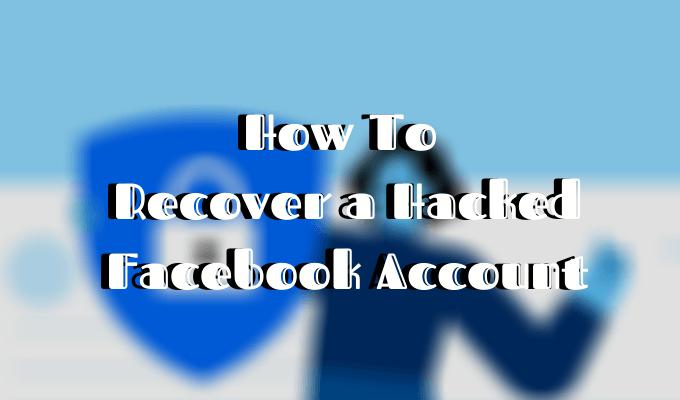 Comment recuperer un compte Facebook pirate