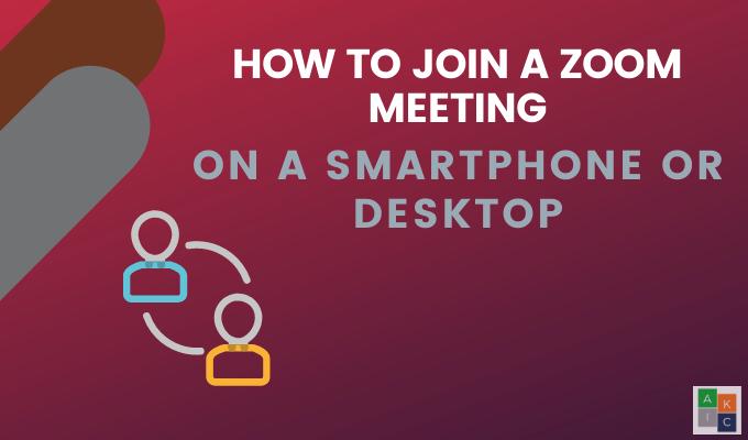 Comment rejoindre une reunion Zoom sur un smartphone ou un