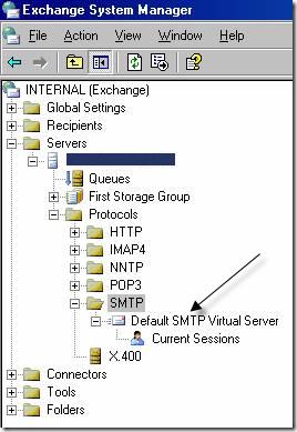 protocole d'échange smtp