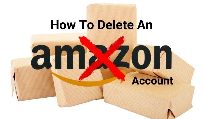 Comment supprimer un compte Amazon