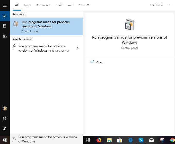 Comment utiliser les outils de compatibilite Windows 10 pour
