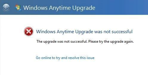 mise à niveau Windows à tout moment