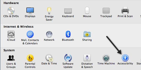 désactiver le trackpad mac