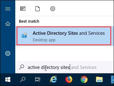 Forcer la replication entre deux controleurs de domaine dans Active