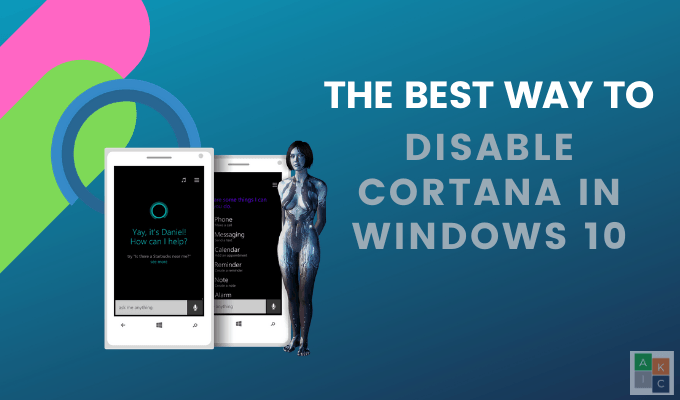 La meilleure facon de desactiver Cortana dans Windows 10