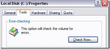 outils de test de disque dur