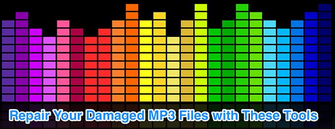 Rechercher et reparer les fichiers MP3 endommages